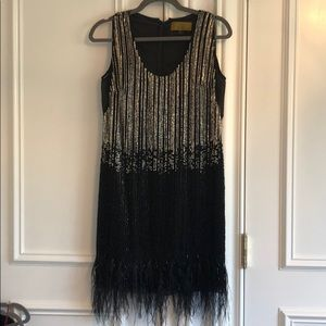 Beaded short dress